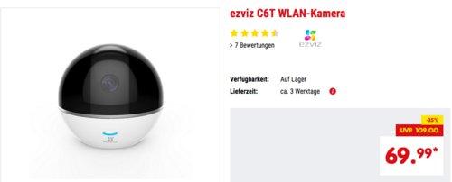 ezviz C6T Full-HD WLAN-Überwachungskamera - jetzt 19% billiger