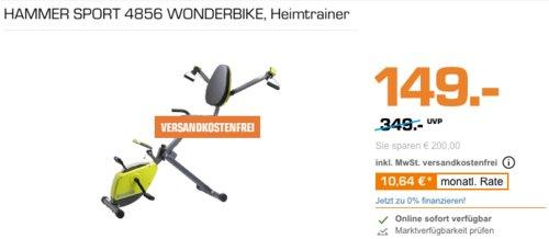 HAMMER Sport 4856 Wonderbike, Heimtrainer - jetzt 17% billiger