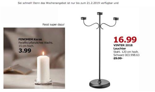 IKEA Berlin-Spandau - VINTER 2018 Leuchter, schwarz - jetzt 43% billiger