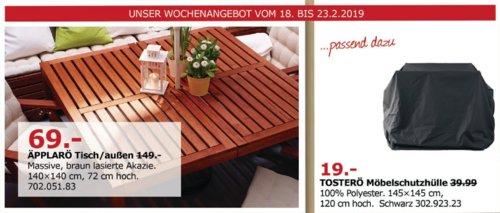 IKEA Düsseldorf - ÄPPLARÖ Tisch/außen, braun - jetzt 54% billiger