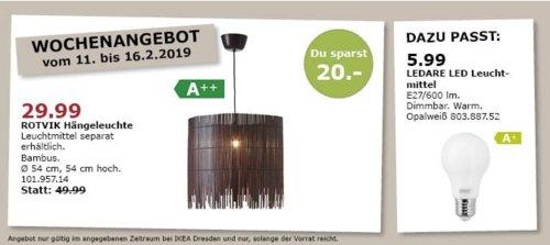 IKEA Dresden - ROTVIK Hängeleuchte, Bambus - jetzt 40% billiger