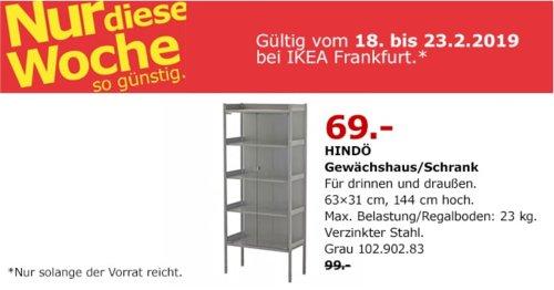 IKEA Frankfurt - HINDÖ Gewächshaus/Schrank, grau - jetzt 30% billiger