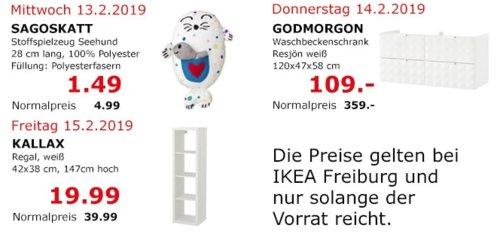 IKEA Freiburg - GODMORGON Waschbeckenschrank, Resjön weiß - jetzt 70% billiger