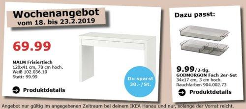 IKEA Hanau - MAILM Frisiertisch, weiß - jetzt 30% billiger