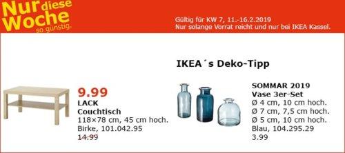 IKEA Kassel - LACK Couchtisch, Birke, 118x78 cm - jetzt 33% billiger