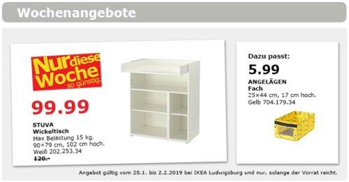 IKEA Ludwigsburg - STUVA Wickeltisch, weiß - jetzt 17% billiger