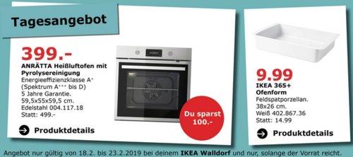 IKEA Walldorf - ANRÄTTA Heißluftofen - jetzt 20% billiger
