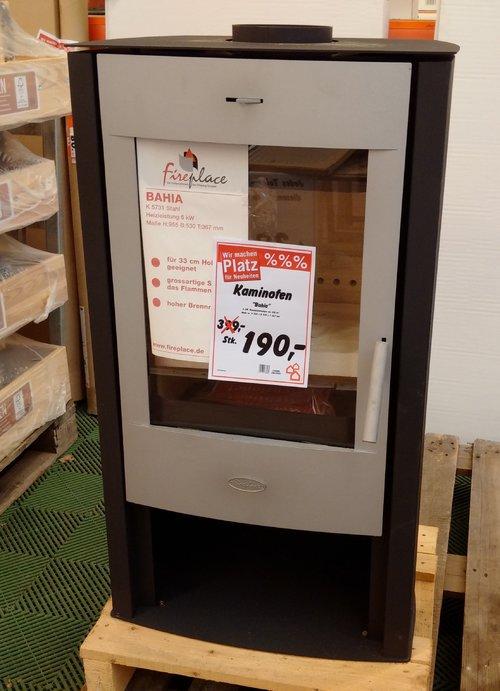 "Kaminofen ""Bahia"" 6 kW - jetzt 52% billiger"