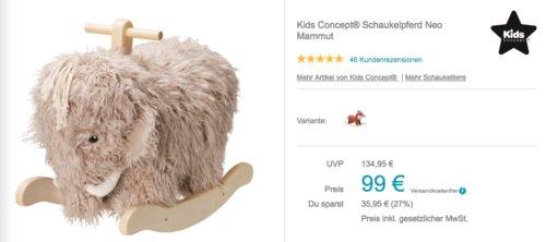 Kids Concept® Schaukelpferd Neo Mammut - jetzt 16% billiger