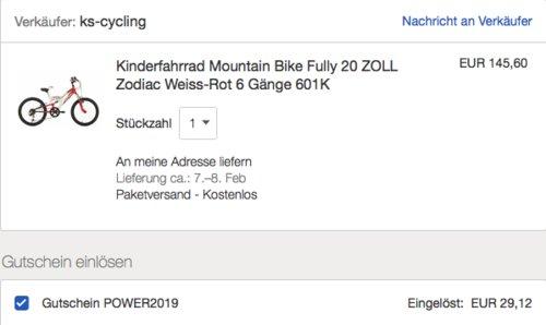 """KS Cycling 20"""" Kinderfahrrad """"ZODIAC"""" mit 6 Gängen - jetzt 20% billiger"""
