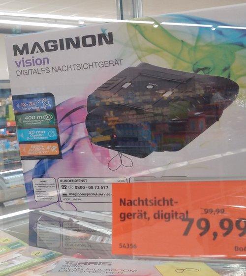 MAGINON vision Digitales Nachtsichtgerät - jetzt 20% billiger