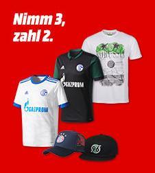 MediaMarkt - Nimm 3 zahl 2 auf Fussball Fanartikel - jetzt 19% billiger