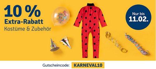 myToys 10 % Rabatt auf Kostüme & Zubehör: z.B. Glow2B Kostüm Pippi Langstrumpf Gr. 110/116 - jetzt 9% billiger