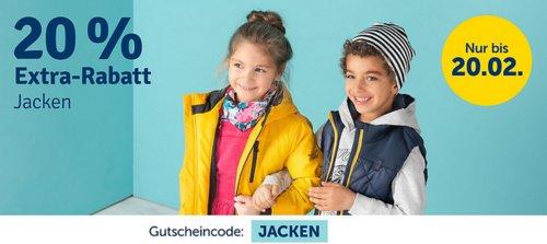 myToys 20 % Extra-Rabatt auf Jacken: z.B.  finkid Kinder Outdoorjacke TALVI - jetzt 20% billiger