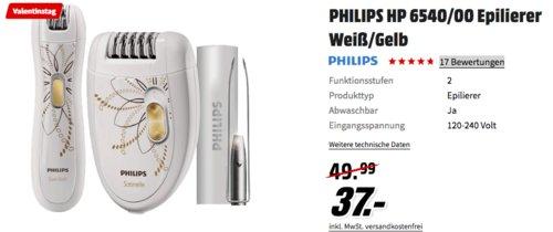 Philips HP6540/00 Epilierer & Bikinitrimmer & Pinzetten-Set - jetzt 26% billiger