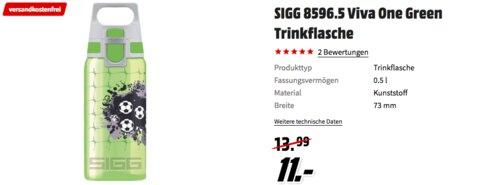 SIGG 8596.5 Viva One Green Football Trinkflasche - jetzt 21% billiger