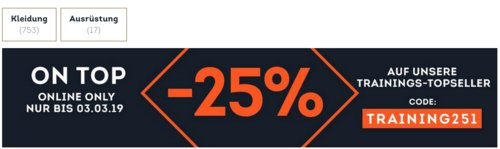 SportScheck.com - 25 % Extra-Rabatt auf Fitnessbekleidung und Ausrüstung: z.B.  adidas How We Do - DamenLauftights - jetzt 23% billiger