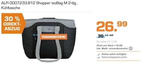 alfi isoBag M 2 Kühltasche/Shopper, 23 Liter - jetzt 30% billiger