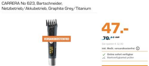 CARRERA No 623 Bartschneider, Netzbetrieb/Akkubetrieb - jetzt 16% billiger