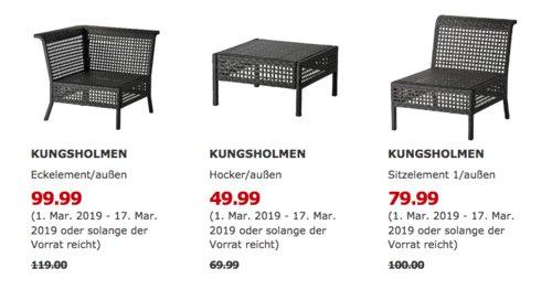 IKEA Wetzlar - KUNGSHOLMEN Eckelement/außen, schwarzbraun - jetzt 16% billiger
