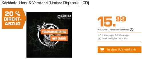 Kärbholz - Herz & Verstand (Limited Digipack) - (CD) - jetzt 20% billiger