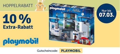 myToys 10 % Extra-Rabatt auf Playmobil: z.B PLAYMOBIL® 9266 Modernes Wohnhaus - jetzt 10% billiger