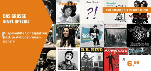 Saturn - VINYL Spezial - Aktion: z.B. Bruce Springsteen - Chapter & Verse - (Vinyl) - jetzt 18% billiger