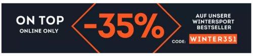 SportScheck.com - 35% Rabatt auf Wintersport Bestseller: z.B. Maui Wowie Damen Sweatshirt in Rosa - jetzt 31% billiger