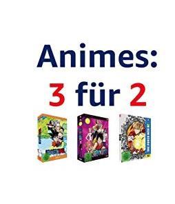 Amazon 3 für 2 Animes DVD & Blu-ray - Aktion - jetzt 32% billiger