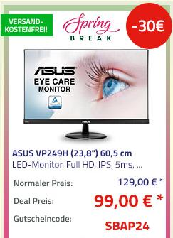 "ASUS VP249H (23,8"") 60,5 cm LED-Monitor (Full HD, IPS, 5ms, Lautsprecher) - jetzt 17% billiger"