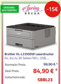 Brother HL-L2350DW Laserdrucker s/w, A4 - jetzt 13% billiger
