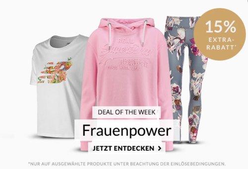 Engelhorn - 15% Extra-Rabatt auf Sportartikel für Damen: z.B.  Nike Sportswear Damen Trainingsshorts Mint - jetzt 13% billiger