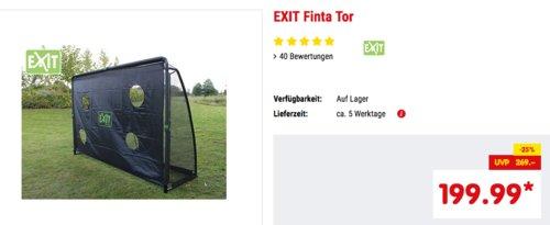 EXIT Finta Tor, 300 x 200 x 90 cm Fußballtor inkl. Torwand - jetzt 8% billiger