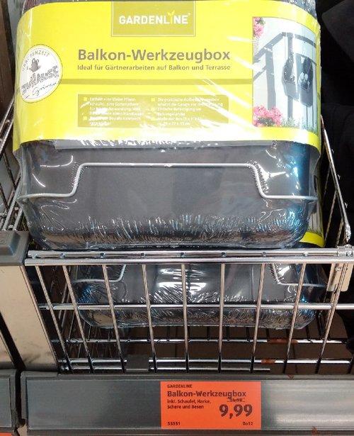 GARDELINE Balkon-Werkzeugbox - jetzt 33% billiger