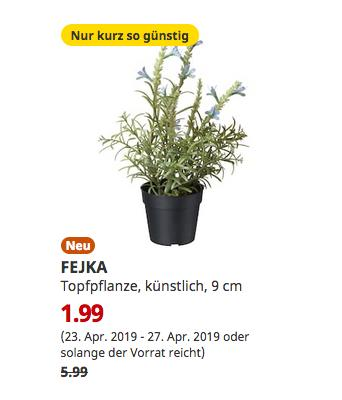 IKEA Berlin-Waltersdorf - FEJKA Topfpflanze, künstlich, Lavendel blau, 9 cm - jetzt 67% billiger