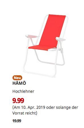 IKEA Freiburg - HAMÖ Hochlehner, rot - jetzt 50% billiger