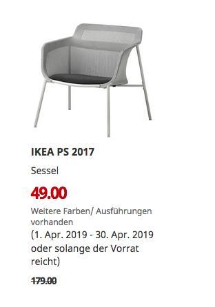IKEA Mannheim - PS 2017 Sessel, grau - jetzt 73% billiger
