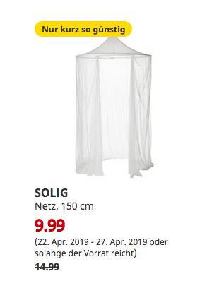 IKEAOsnabrück - SOLIG Netz, weiß, 150 cm - jetzt 33% billiger