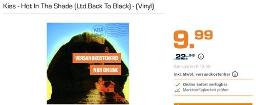 Kiss - Hot In The Shade (Ltd.Back To Black) - (Vinyl) - jetzt 50% billiger