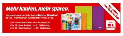 MediaMarkt - bis zu10€ Rabatt auf Büroartikel: z.B. SIGEL SA 503 Memocenter cintano® : X - jetzt 15% billiger