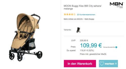 MOON Buggy Kiss 995 City, sahara/ melange - jetzt 12% billiger