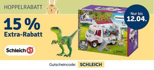 myToys.de - 15% Extra-Rabat auf Schleich: z.B. Schleich Bauernhaus + GRATIS Set Geburstagspicknick (42407 + 42426) - jetzt 14% billiger