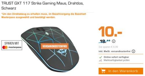 TRUST GXT 117 Strike kabellose Gaming-Maus, 600-1400 dpi - jetzt 47% billiger