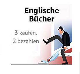Amazon:3 für 2 Englischsprachige Bücher - Aktion - jetzt 31% billiger