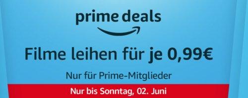 Amazon Prime Video: 10 Filme für je 0,99€ zum Ausleihen - jetzt 80% billiger