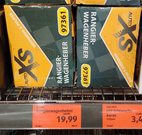 Auto XS Rangier-Wagenheber - jetzt 20% billiger