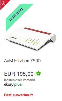 AVM FRITZ!Box 7590 High-End WLAN AC + N DSL-Router - jetzt 10% billiger