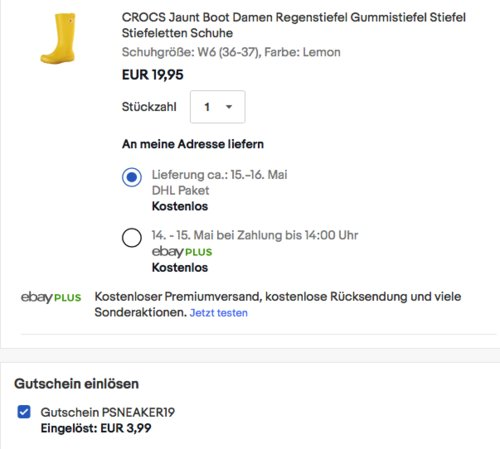 CROCS Jaunt Boot Damen Regenstiefel in versch. Farben und Größen - jetzt 20% billiger