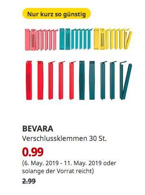 IKEA Essen - BEVARA Verschlussklemmen 30 St. - jetzt 67% billiger