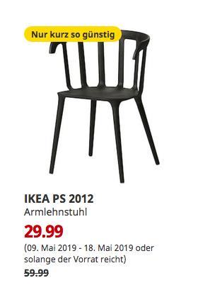 IKEA Magdeburg - IKEA PS 2012 Armlehnstuhl, schwarz - jetzt 50% billiger
